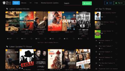 What Watchseries.net website looks like in 2021