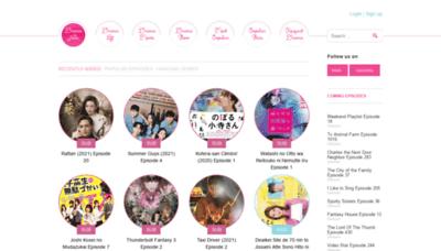 What Www7.ondramanice.co website looks like in 2021