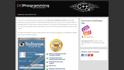 What Xprogramming.org website looked like in 2019 (1 year ago)