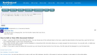 What Xmlgrid.net website looks like in 2021