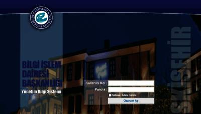 What Ybs.eskisehir.bel.tr website looked like in 2016 (5 years ago)