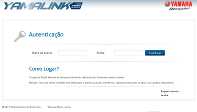 What Yamalink.com.br website looked like in 2018 (2 years ago)