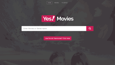 What Yesmovies.gg website looked like in 2019 (1 year ago)