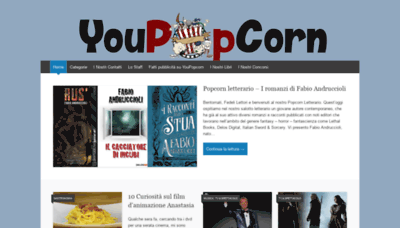 What Youpopcorn.net website looked like in 2020 (1 year ago)