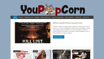 What Youpopcorn.net website looked like in 2020 (This year)