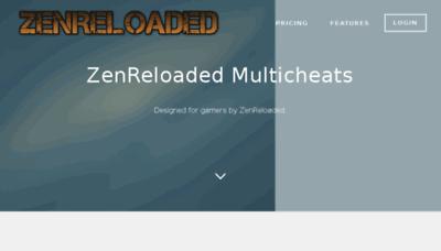 What Zenreloaded.org website looked like in 2016 (5 years ago)