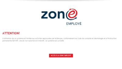 What Zoneemploye.bnc.ca website looked like in 2017 (4 years ago)