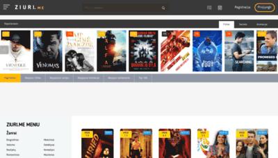 What Ziuri.me website looked like in 2018 (2 years ago)