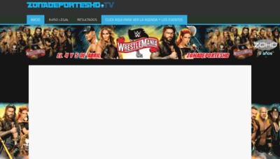 What Zonadeporteshd.tv website looked like in 2020 (1 year ago)