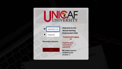 What Zm-vle-uu.unicaf.org website looks like in 2021
